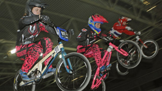T.N.T's Bethany Shriever was unstoppable in Manchester as she won both rounds, the 16-year-old going on to reach the semi-finals at same venue in the UCI BMX Supercross World Cup for Great Britain.