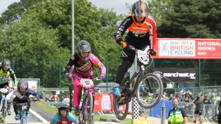 Beth Shriever at the HSBC UK | BMX National Series