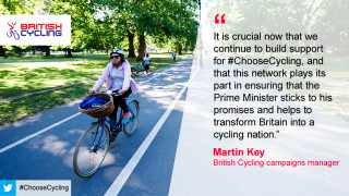The #ChooseCycling network of businesses aims to promote cycling as an everyday transport option.