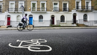 Investment in cycling infrastructure during the last government averaged just over £4 per head per year.