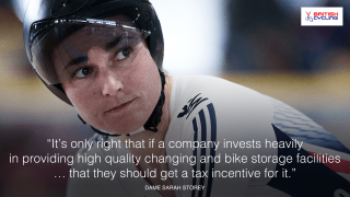 Tax breaks for cyclists and supportive employers