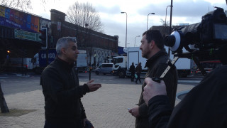 Sadiq Khan MP and Chris Boardman