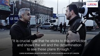 During the campaign, Mr Khan met with Mr Boardman and outlined his own proposals for cycling in London.
