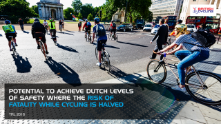 The research suggests that implementing the new rule could create an estimated 15% to 40% increase in signalised junction efficiency, reduce congestion and improve air quality, while also has the potential to improve safety levels to those seen on Dutch roads