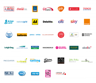 Businesses in the #ChooseCycling network
