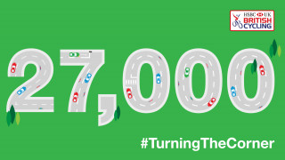27000 signatures for turning the corner campaign
