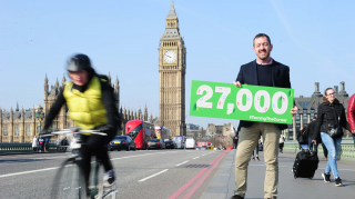 27,000 people supported the British Cycling Turning the Corner campaign for safer junctions