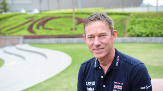 Great Britain Cycling Team's performance director Stephen Park