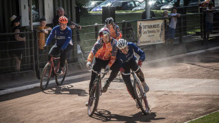 Round three of the Supertrax Battle of Britain Cycle Speedway series