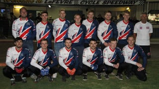 Senior men's cycle speedway squad take first victory in Australia since 2005