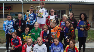 The women's cyle speedway world finalists