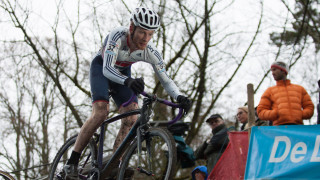 Ben Sumner at the 2015 UCI Cyclo-cross World Cup in Namur