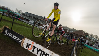 Action from the 2014/15 Durham round of the British Cycling National Trophy Cyclo-cross Series.
