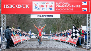 Ian Field wins the elite men's race at the HSBC UK | National Cyclo-cross Championships