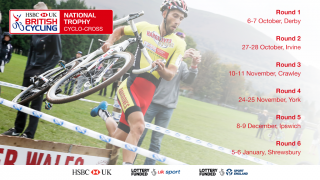 Dates for the 2018 HSBC UK | Cyclo-Cross National Trophy
