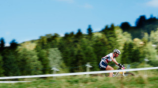 Alice Barnes believes a UCI Mountain Bike World Cup cross-country win is within reach