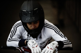 Tre Whyte produced a stunning display in Rotterdam to win bronze at the UCI BMX World Championships