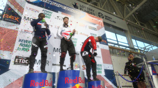 Phillips completed a three-peat of wins at the Manchester UCI BMX Supercross World Cup in April.
