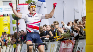 The 19-year-old British Cycling Olympic Senior Academy rider took a maiden UCI Under-23 Nations' Cup