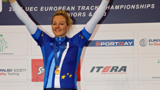Katy Marchant sprinted to an exceptional keirin gold medal as the Great Britain Cycling Team ended the UEC Under-23 and Junior European Championships with a fantastic 12 medals in Athens.