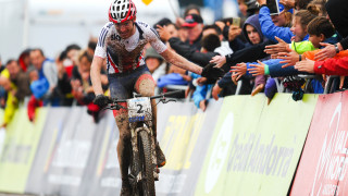 British champion Ferguson, 23, makes the step up to the elite level having won bronze in the under-23 men's race at the 2015 UCI Mountain Bike World Championships.