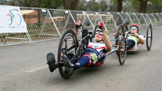 Two medals will serve as an excellent boost for Darke as she starts to look ahead to the Paralympics in Rio after two fourth place finishes at the recent world championships.