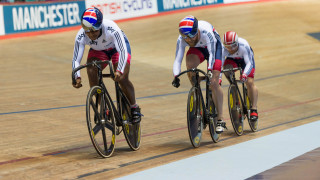 Action from the Manchester Para-cycling International