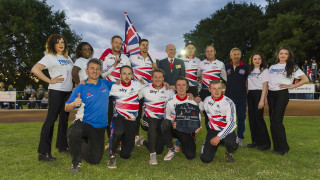 Both men's and women's cycle speedway teams celebrated victories over Australia in Coventry.