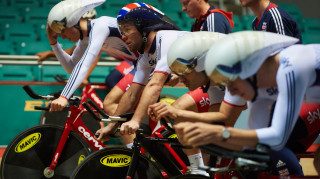Mark Cavendish joins Great Britain's team pursuiters