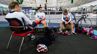 Jason Kenny, Philip Hindes and Callum Skinner