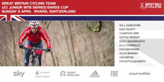 Great Britain Cycling Team for the 2016 UCI Junior MTB Series Swiss Cup