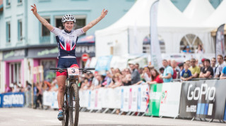 Evie Richards, who has won two silver medals at world cup-level this year, will represent Great Britain in the under-23 women's category.