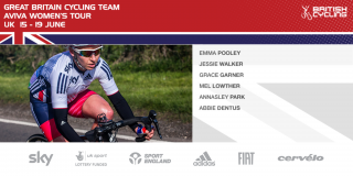 Great Britain Cycling Team for the 2016 Aviva Women's Tour