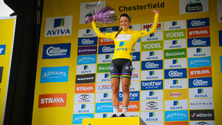 Lizzie Armitstead wins the yellow jersey on day three of The Women's Tour