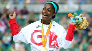 Kadeena Cox wins Paralympic gold in the 500m time trial