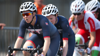 ParalympicsGB's Lora Turnham and Corrine Hall finish fourth in the B road race at Rio 2016