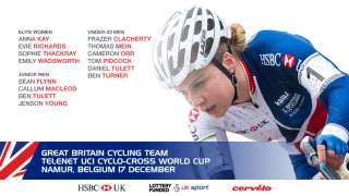 Great Britain Cycling Team for the Telenet UCI Cyclo-cross World Cup, Namur