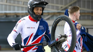 Great Britain Cycling Team's Tre Whyte exited in the quarter-finals of round five of the UCI BMX Supercross World Cup in Santiago del Estero