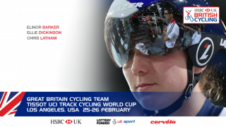 Great Britain Cycling Team squad for the Tissot UCI Track Cycling World Cup in Los Angeles, USA