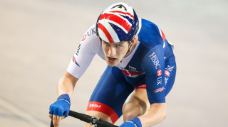 Great Britain Cycling Team's Chris Latham