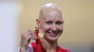 Commonwealth gold medallist Joanna Rowsell Shand