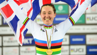 Katie Archibald wins the omnium at the UCI Track Cycling World Championships