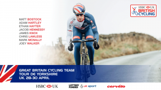 Great Britain Cycling Team for 2017 Tour de Yorkshire