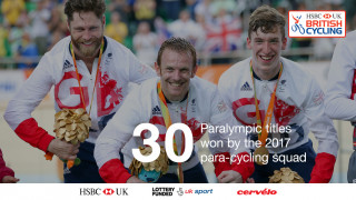 30 Paralympic titles. won by 2017 squad
