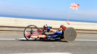 There will also be a Great Britain Cycling Team debut for hand cyclist Mel Nicholls.