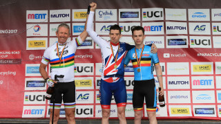 Craig McCann makes the top step of the world cup podium for the first time