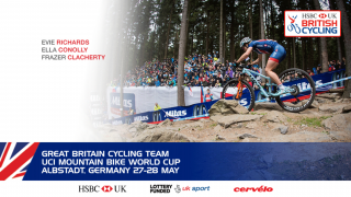 Great Britain Cycling Team for UCI Mountain Bike World Cup in Albstadt, Germany