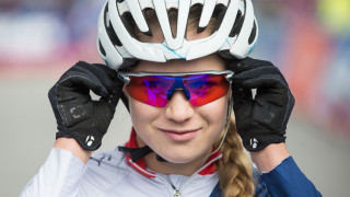 Great Britain Cycling Team's Evie Richards finished second in the opening cross-country round of the 2017 UCI Mountain Bike World Cup