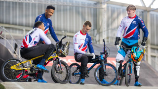 GB Cycling Team BMX riders Manchester