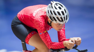 Team Breeze's Ellie Dickinson will take on the scratch race in Manchester